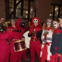 Brass Balagan at Greenwich Village Halloween Parade 2011