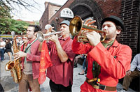 Brass Balagan at Honk!